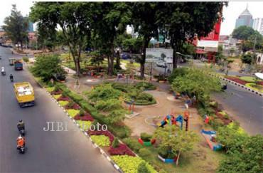 Ilustrasi taman kota (JIBI/Solopos/Dok.)