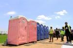 JOKOWI MANTU : 3 Kantong Parkir Dilengkapi Toilet Portable untuk Tamu