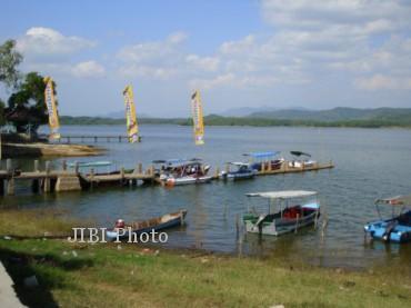 Perahu di  Waduk Gajah Mungkur (WGM) (Dok/JIBI/Solopos)