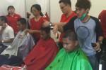 500 Orang Ikut Potong Rambut Gratis