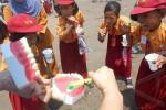 Ilustrasi anak-anak menyikat gigi (JIBI/Harian Jogja/Antara)