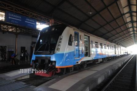 Ilustrasi kereta api (Dok/JIBI)