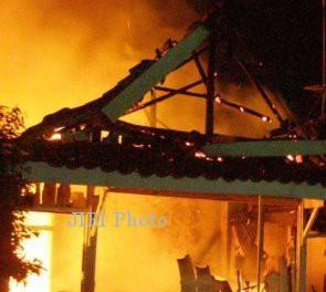 Ilustrasi Rumah Terbakar (Dok/JIBI/Solopos)