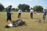 PENEMUAN MAYAT SRAGEN : Tersangka Mutilasi Siska Pastikan Tubuh Korban Terbakar