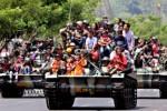 HUT KE-68 TNI : RAKYAT-TNI KUAT