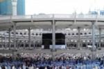 Menjelang puncak ibadah haji, Jumat (4/10/2013) lalu, Kakbah dan Masjidil Haram semakin padat jemaah calon haji. (JIBI/Solopos/Antara/Fitri Supratiwi)