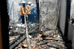 KEBAKARAN KARANGANYAR : Lupa Matikan Kompor, Rumah Ludes Dilalap Api