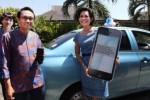 TAKSI BISA DIBAYAR DIGITAL : Blue Bird-XL Axiata Realisasikan Cash-less