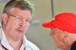 FORMULA ONE : Lauda Berharap Brawn Kembali ke F1