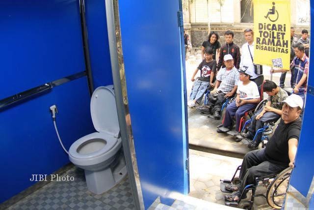 WORLD TOILET SUMMIT : WTS Rampung, Toilet Portable Digembok