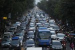 Ilustrasi kemacetan di Solo