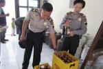 RAZIA PEKAT : Polres Klaten Sita Ratusan Liter Miras
