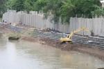BANJIR SUKOHARJO : Duh, Kondisi Belasan Tanggul Sungai Bengawan di Sukoharjo Kritis