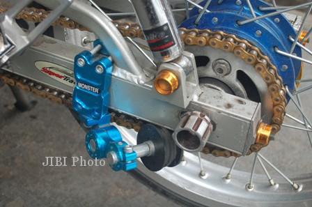 Honda Kharisma Dari Drag Race Jadi Underbone