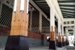 Pilar-pilar Pendapa Pemkab Boyolali di Kemiri (Tri Rahayu/JIBI/Solopos)