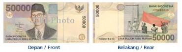 Uang Rp50.000 emisi 1999