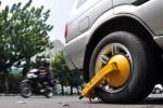 PENERTIBAN PARKIR : Sanksi Gembok untuk Sepeda Motor akan Diterapkan Tahun Ini