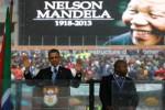 NELSON MANDELA TUTUP USIA : Obama & 3 Mantan Presiden AS Hadiri Penghormatan Terakhir Mandela