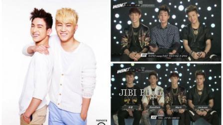 Boy band baru JYP Entertainment yang hingga kini belum jelas namanya (Soompi)
