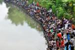 FOTO HARI PERS NASIONAL : Warga Mungkid Memancing Bersama
