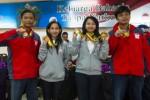 FOTO SEA GAMES : Atlet Indonesia Pamer Medali