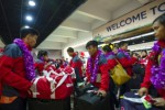 FOTO SEA GAMES : Atlet Indonesia Pulang Kampung