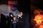 Master Colour Michael Helmy mempresentasikan teknik pewarnaan rambut pada Seminar Edukasi Solo bersama Makarizo di Hotel Solo Paragon, Rabu (11/12).  (Burhan Aris Nugraha/JIBI/Solopos)