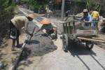 1.290 Meter Jalan di Manyarejo Sragen Dibetonisasi