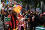 FOTO KIRAB BUDAYA : Menyemburkan Api
