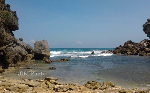 Pantai di Gunungkidul (JIBI/Harian Jogja/Kusnusl Isti Qomah)