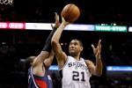 NBA 2013-2014 : Duncan Heroik, Spurs Taklukan Hawks 102-100