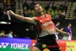 MALAYSIA OPEN SUPERSERIES PREMIER 2014 : Tommy Melaju, Hayom Terhenti