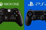 Ilustrasi Xbox One vs PS 4 controller (sticktwiddlers.com)