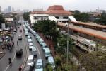 Atap Stasiun Tanah Abang Jakarta. (Dok/JIBI/Bisnis)