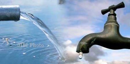 Ilustrasi air PDAM (JIBI/Solopos.com/Dok.)