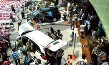 Ilustrasi pameran produk automotif Honda (JIBI/Solopos/Dok.)