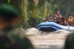 Ilustrasi evakuasi korban banjir. (JIBI/Solopos/Antara/Widodo S. Jusuf)