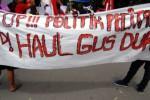 HAUL GUS DUR : Aparat Protes Berita Demo Sambut SBY