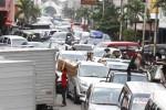 Ilustrasi kepadatan arus lalu lintas di Jl. dr Radjiman kawasan Coyudan, Solo. Coyudan merupakan salah satu pusat bisnis yang ada di Kota Solo. (JIBI/Solopos/Dok.)