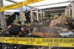 KEBAKARAN KIOS KOMPLEKS BOROBUDUR : Tim Labfor Selidiki Penyebab Kebakaran