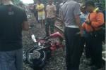 KECELAKAAN KERETA : Terjadi Ledakan, Api Membubung Tinggi