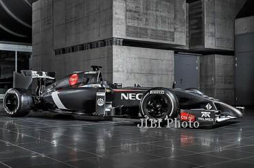 Tampilan The Sauber C33. JIBI/formula1.com