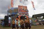 JIBI/Solopos/Ardiansyah Indra Kumala  Sejumlah siswa pramuka SMP Kasatriyan I berkunjung di Sekaten, Alun-alun utara Solo, Jumat (10/1). Kegiatan tersebut bertujuan supaya siswa mengenal perayaan Sekaten dari dekat.