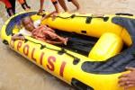 Polres Bojonegoro Siagakan 3 Perahu Karet Jelang Tahun Baru 2018