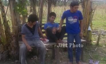 Dante, Paroy, dan Ibrahim, 3 tersangka pembunuh ibu asal Filipina (Dailymail.co.uk)