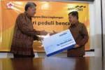FOTO BANTUAN BANK MANDIRI : Bank Mandiri Janjikan Hibah bagi PMI
