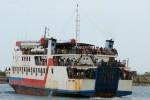 FOTO KMP BRR : Kapal ke Sabang Kelebihan Muatan
