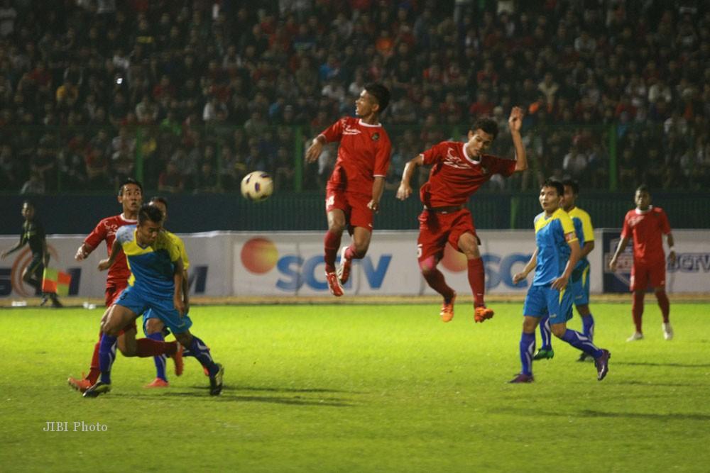... 2014). Timnas Indonesia menang dengan skor 3-2.(JIBI/Harian Jogja/Desi