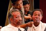 Salah satu potongan dalam filmThe Act of Killing (Jagal). (drafthouse.com)