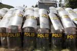 PILKADA 2018 : Kapolres Se-Jateng Berlatih Amankan Pilkada di Jakarta